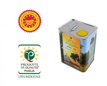 Gianecchia extra virgin olive oil - PDO certified - 3 litre can