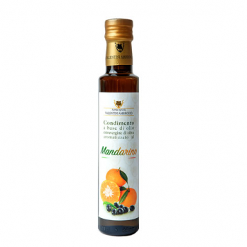 Extra virgin olive oil flavored with MANDARIN - 250ml bottles